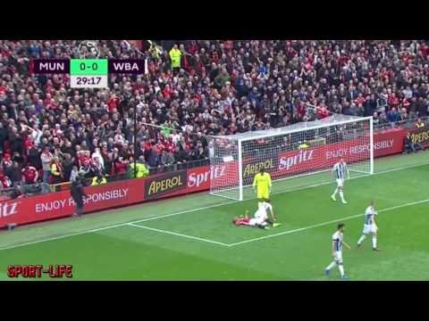 Манчестер Юнайтед Вест Бромвич ОБЗОР МАТЧА 30 ТУР