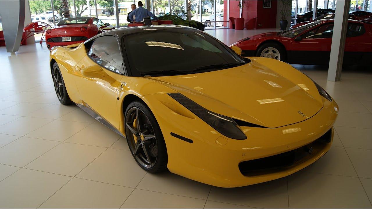 Ferrari 458 Italia - Ferrari of Tampa Bay - YouTube