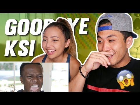 LOGAN PAUL - GOODBYE KSI (DISS TRACK) FEAT. KSI (REACTION!)