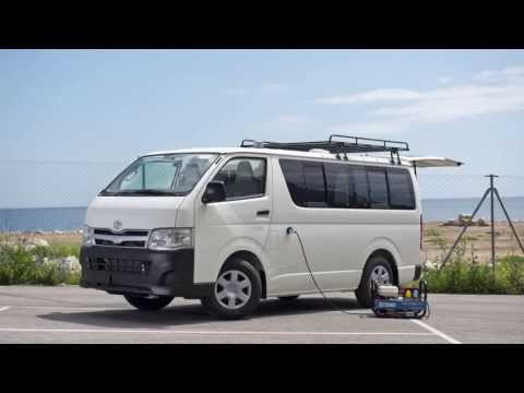 Toyota Hiace Converted Into A Mobile Laboratory Clinic