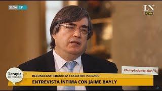 """Jaime Bayly: """"Cristina no hubiera sacado tantos votos como sacó Alberto"""""""