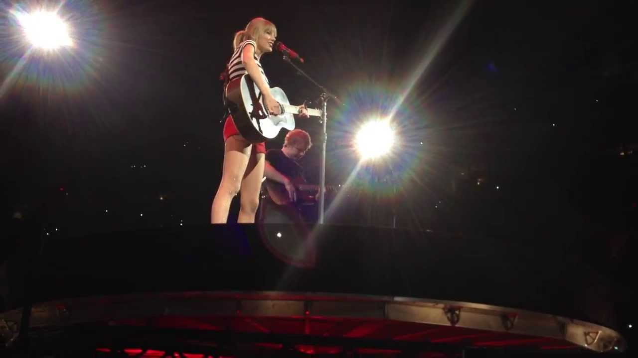 Taylor Swift And Ed Sheeran Red Tour Raleigh Everything Has Changed Youtube