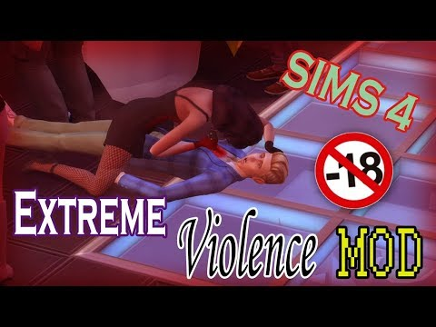 EXTREME VIOLENCE MOD SIMS 4 | SIMS ASESINOS streaming vf