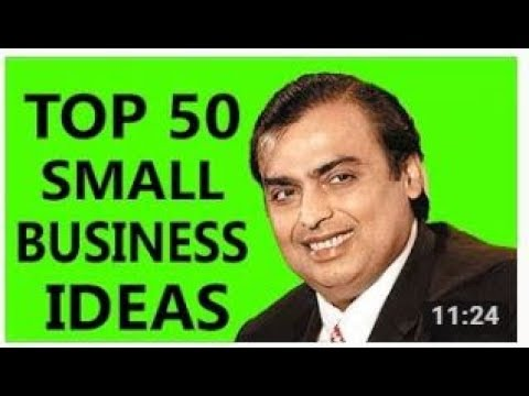 Top 50 Small Business Ideas