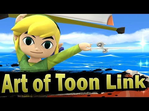 Smash 4: Art of Toon Link