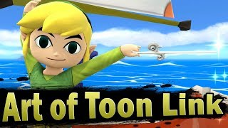 Smash 4: Art of Toon Link