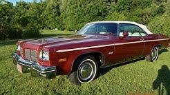 1975 Oldsmobile Delta 88 convertible for sale 301 actual miles, auto appraisal Flint Michigan