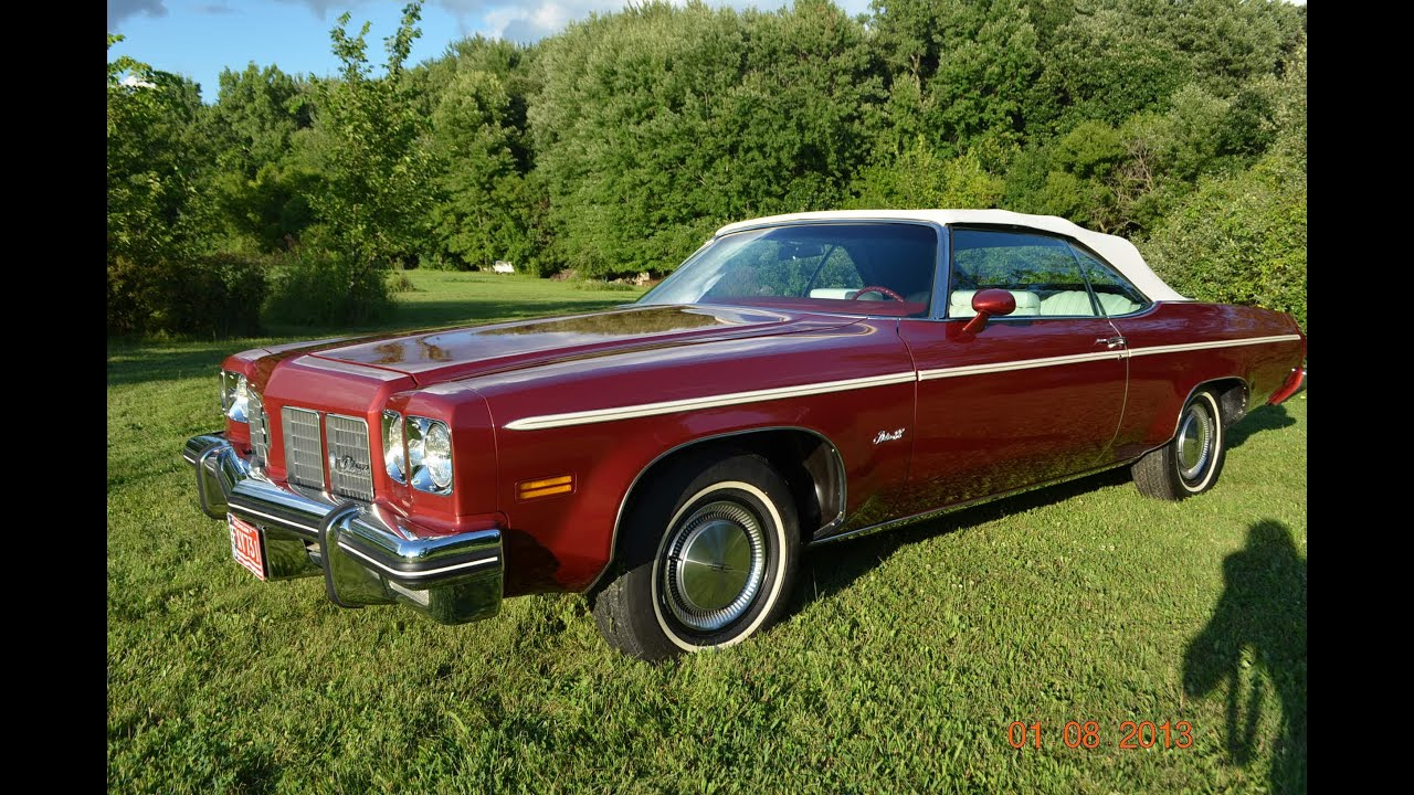 1975 Oldsmobile Delta 88 convertible for sale 301 actual miles ...