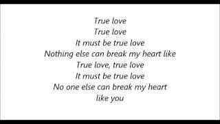 Pink feat. lily allen - true love (lyrics)