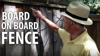 Board On Board Fence