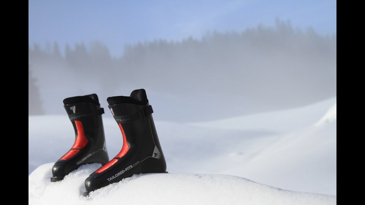 Customized 3D-Printed Ski Boots Combine Comfort and Performance