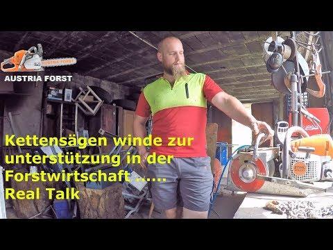 Kettensägen winde zur unterstützung in der Forstwirtschaft        Real Talk