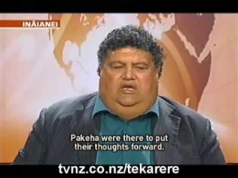 Parekura Horomia interview about the repeal of the Seabed & foreshore Act Nov 5 2009 Te Karere Maori News TVNZ