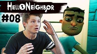 WIR FLIEHEN AUS DEM HORROR HAUS!? | Hello Neighbor #08 | Spielkind Gaming