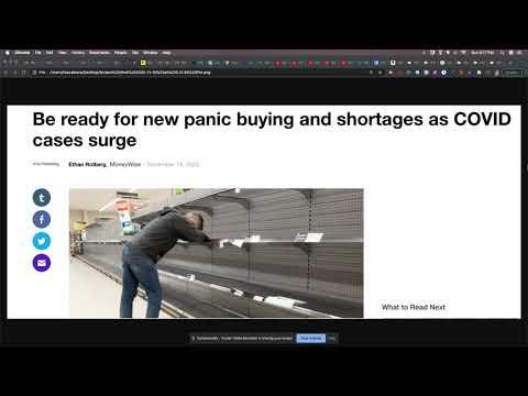 Panic Shopping Is Making A Comeback