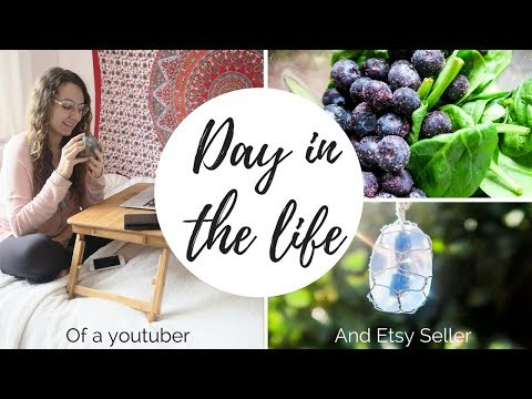 A DAY IN THE LIFE Of A Youtuber And Etsy Shop Owner | BOOKING FLIGHTS TO NEW ZEALAND! 😀✈️