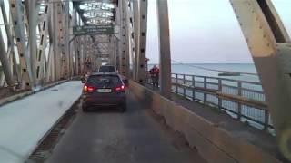 Ремонт моста и дамбы в Черкассах 9.09.2017