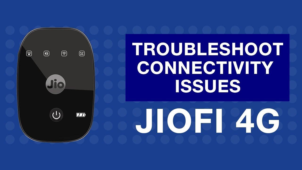 JioFi - How to Troubleshoot Internet Connectivity Issues of JioFi Device |  Reliance Jio