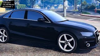 [ELS]Audi A4 Unmarked New ENB Top Speed Test GTA Mod