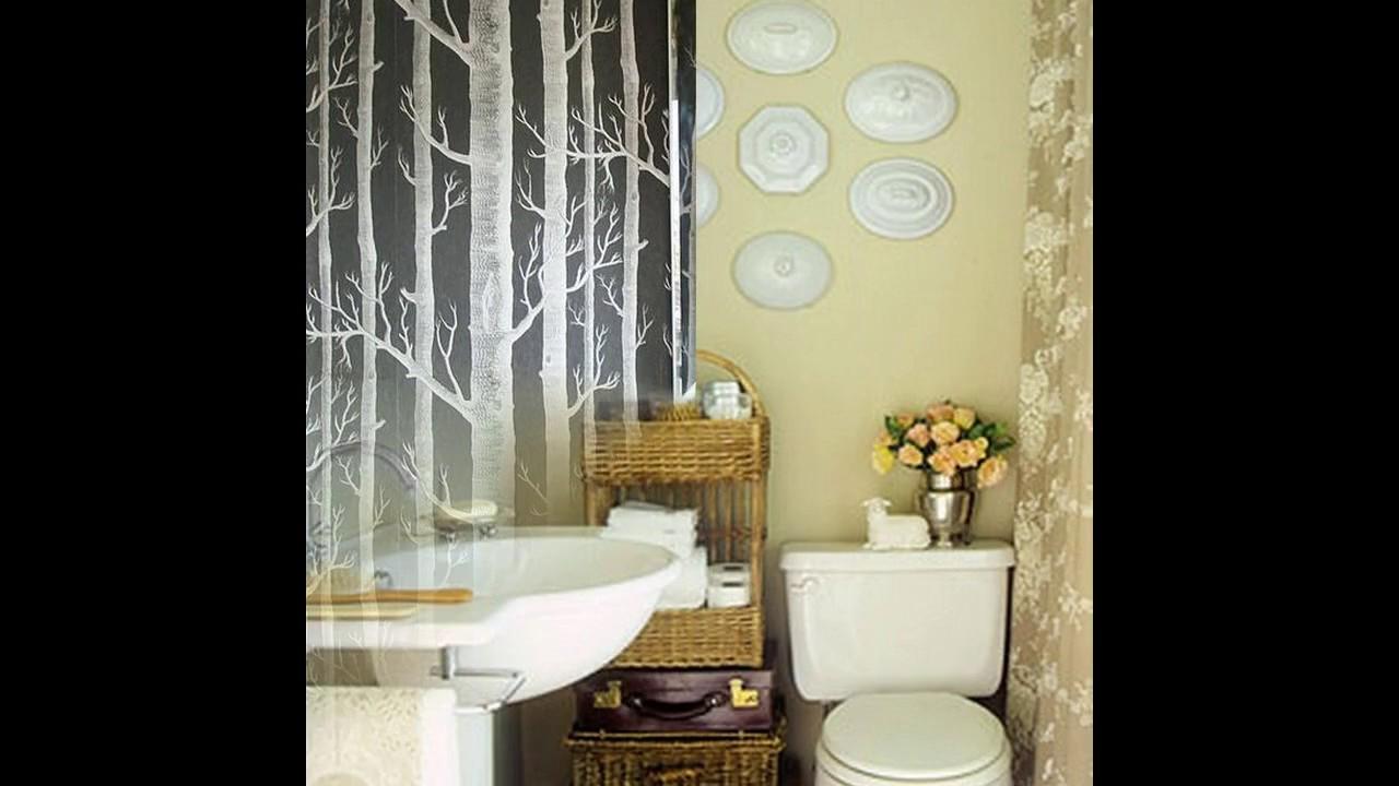 Kleine badezimmer dekoration ideen