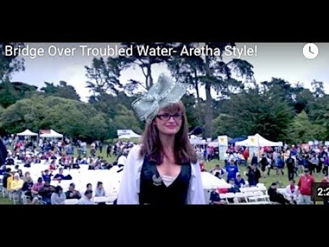 Mary Bird Sings Bridge Over Troubled Water Aretha Style!