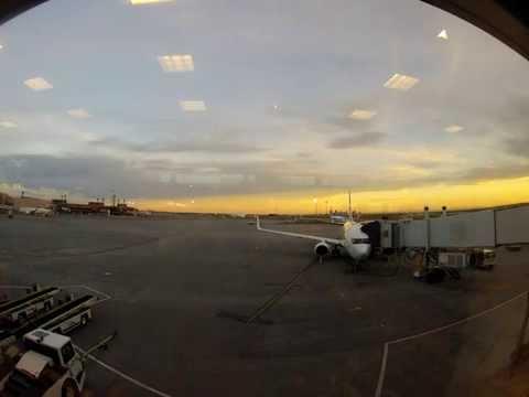 Planes at Calgary International Airport