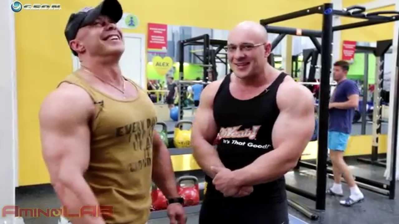 Бицепс и трицепс, качаем огромные руки с Иваном Водяновым