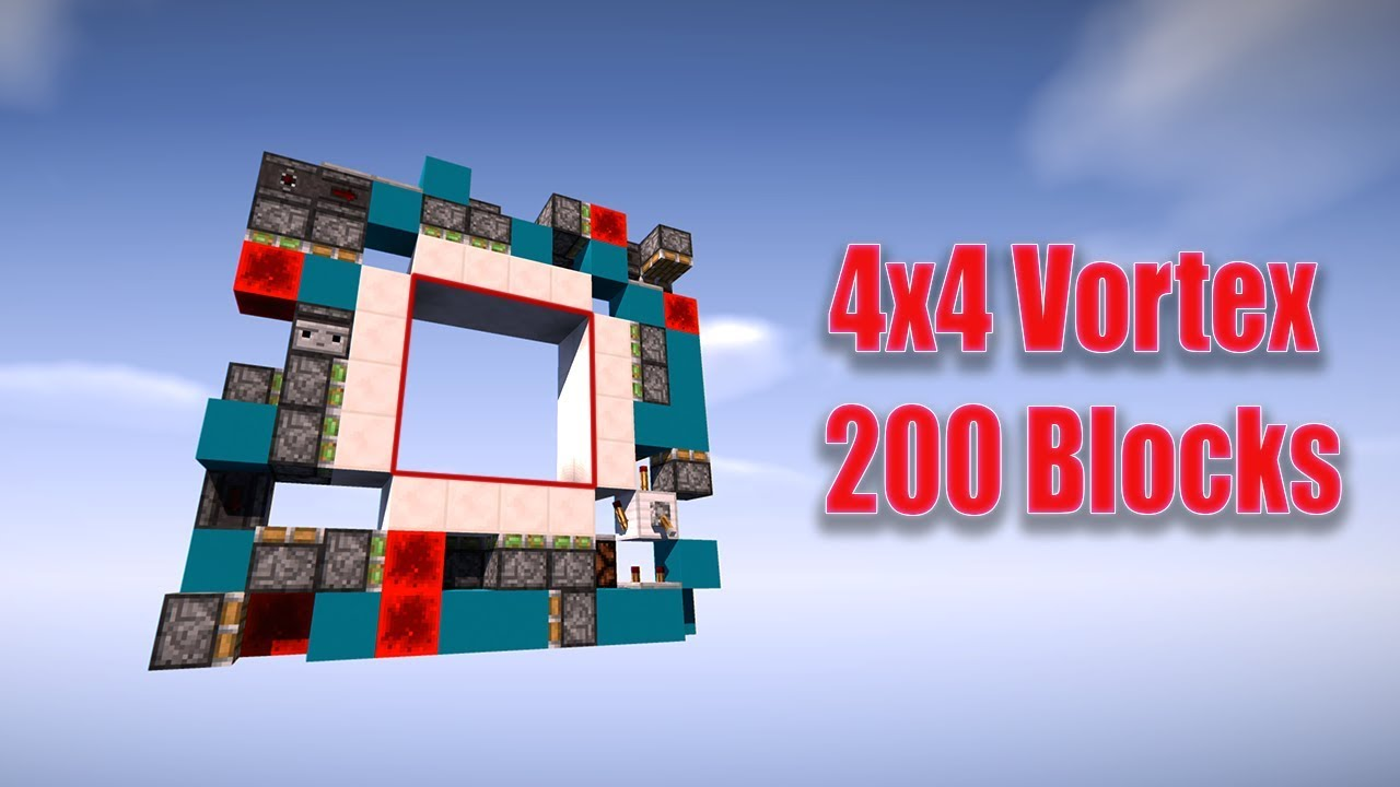 MCPE Layout size 4x4 Vortex door [200 Blocks] by Emmet \u0026 Tyler & MCPE Layout size 4x4 Vortex door [200 Blocks] by Emmet \u0026 Tyler - YouTube