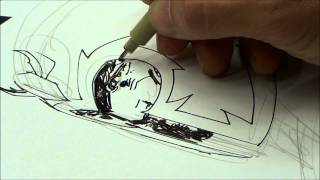 Jim Lee drawing Magneto