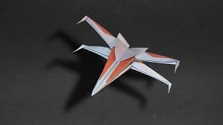 Origami: Spaceship Star Wars / X Wing