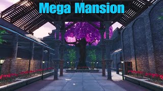 "Fortnite Creative Mode Build ""Mega Mansion"" Map Code : [3465-7788-4425] #FortniteBlockParty"