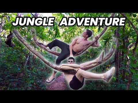Dangerous Jungle Trek to a Hidden Temple - Thailand Travel Vlog