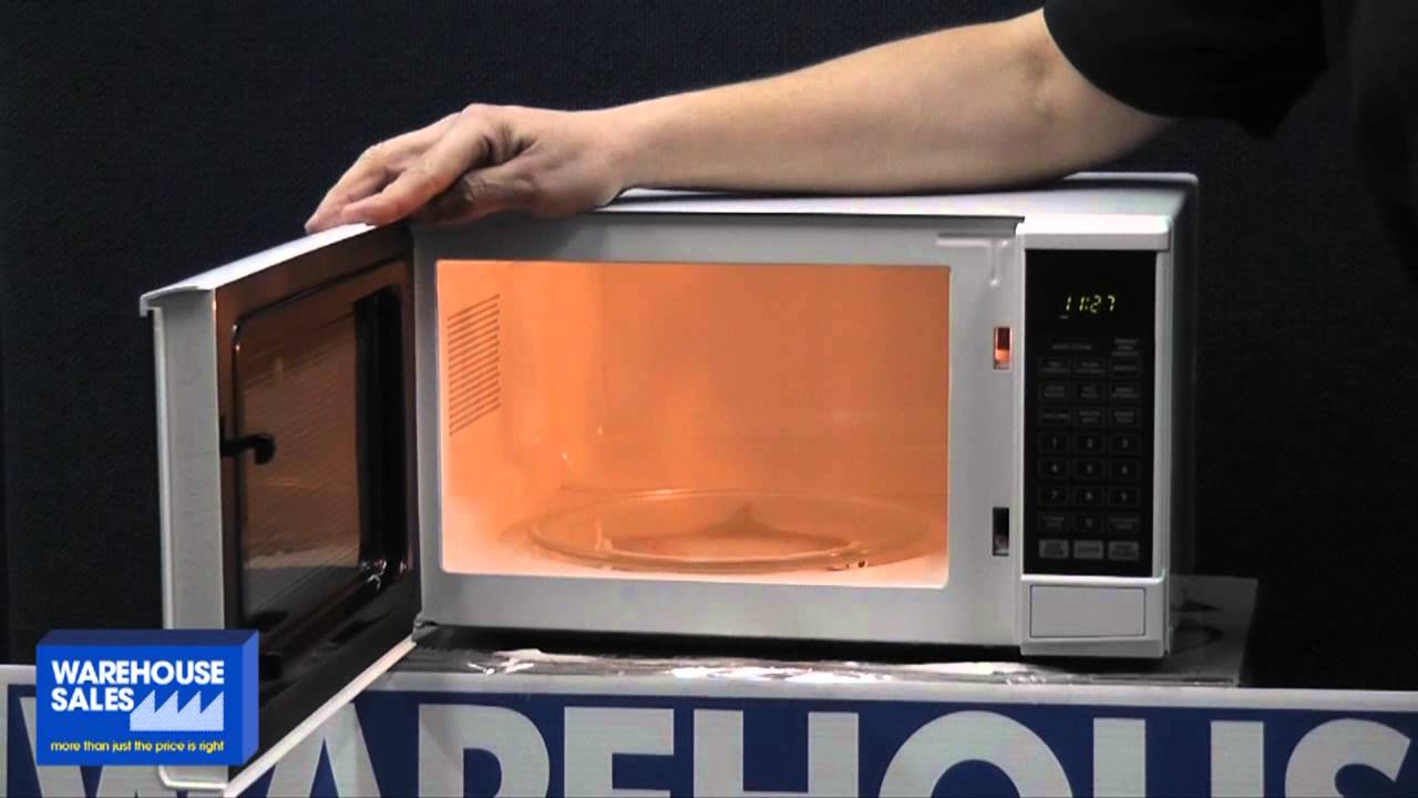 Sharp Compact Microwave Oven R200yw Youtube