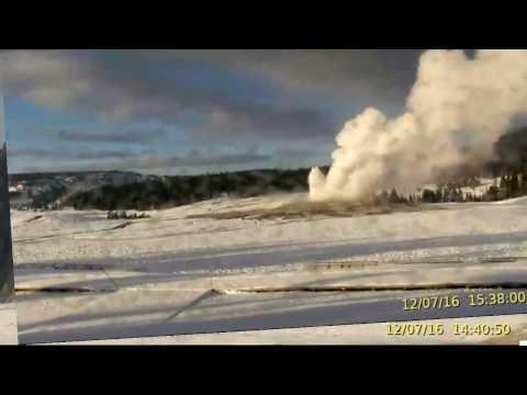 Yellowstone Alert Full Steam Ahead! Dec 7-8th Morning!