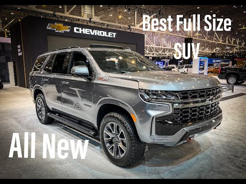 2021 Chevrolet Tahoe - Best Full Size SUV - Review And Walkaround