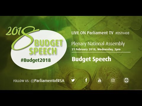 PLENARY National Assembly: Budget Speech