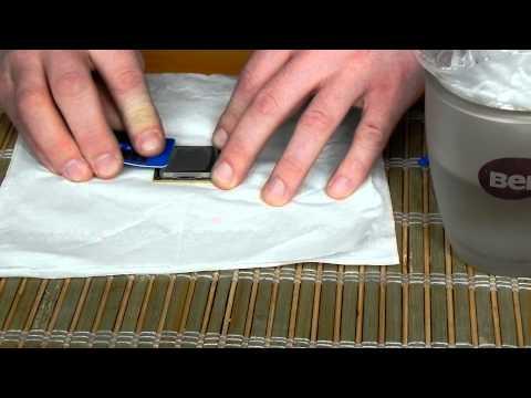 Test I Aplikacja Pasty IC Diamond 24 Carat