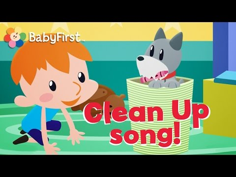 Clean up song | I can do it Tidy up song | Nursery Rhymes for kids by BabyFirst