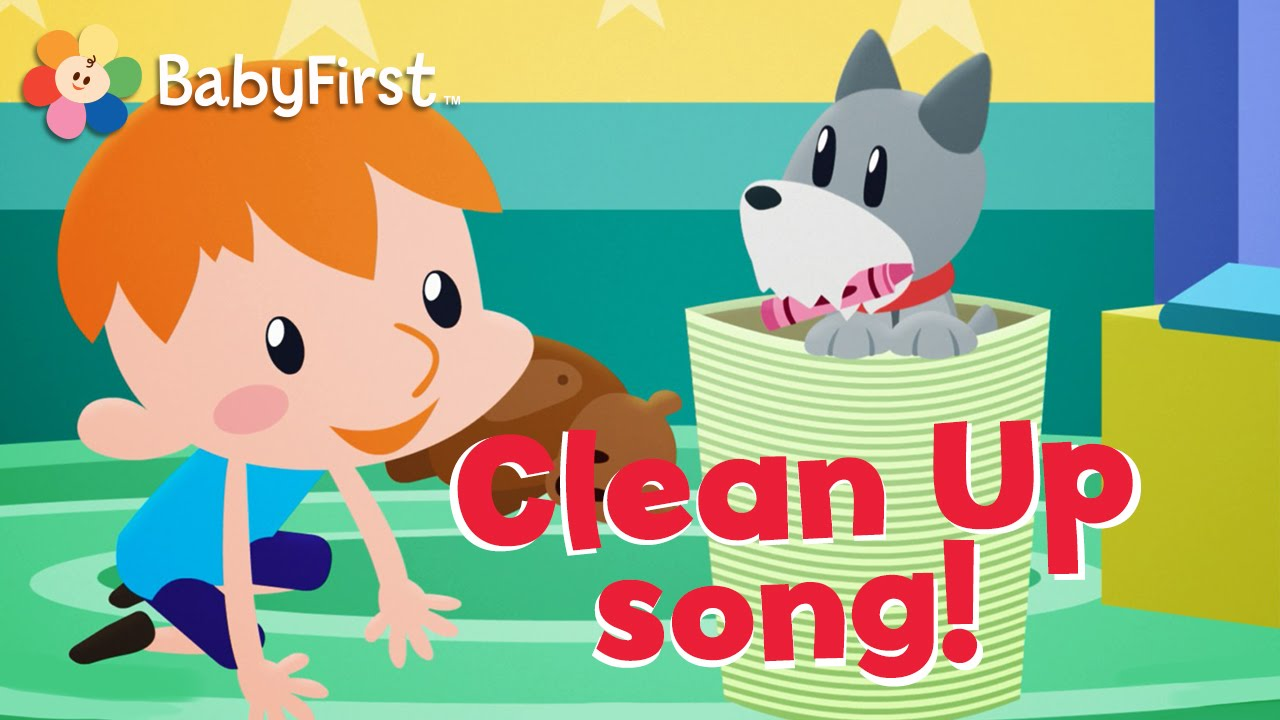 Clean Up Song For Kids  Seconds
