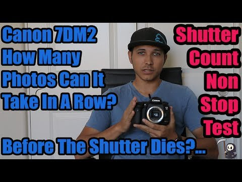 Canon 7D Mark II Shutter Count Test: What Happens If You Tak