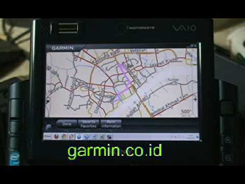 Sony Vaio UX57 - Holux M1000 - GArmin Mobile PC