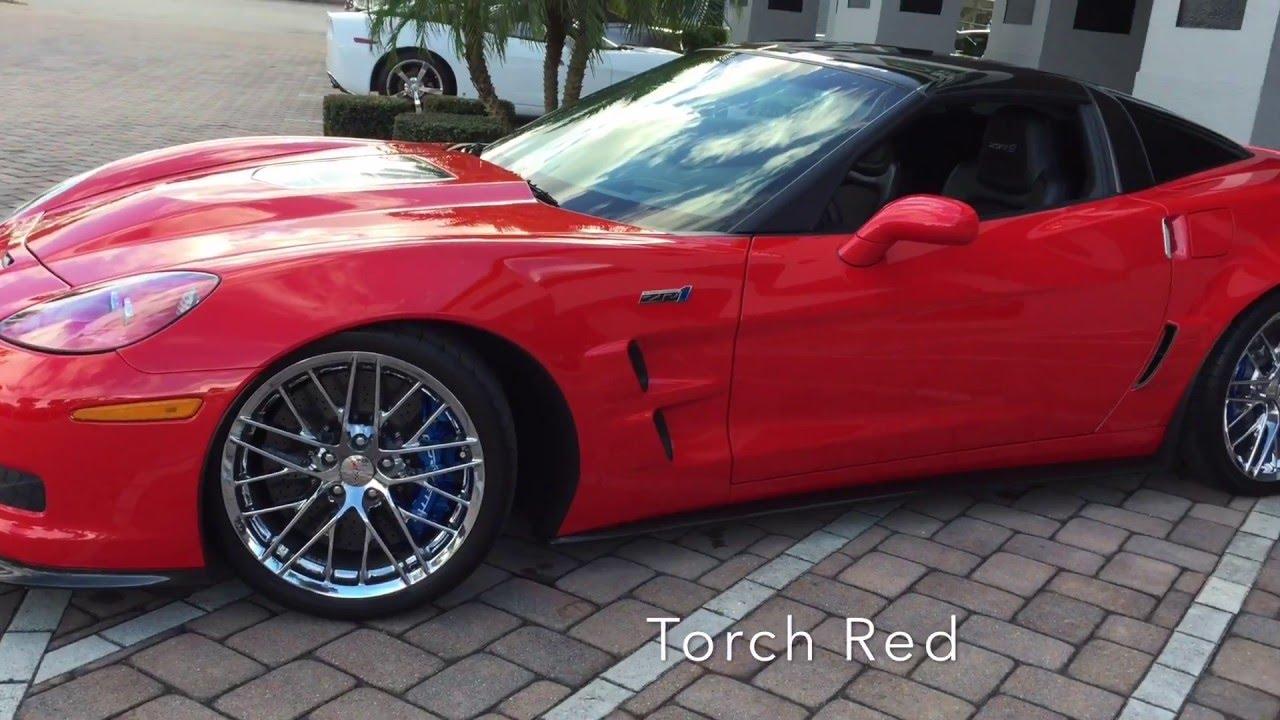 2010 chevrolet corvette zr1 for sale at naples motorsports youtube. Black Bedroom Furniture Sets. Home Design Ideas