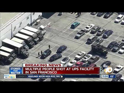 Shooting reported at San Francisco UPS facility