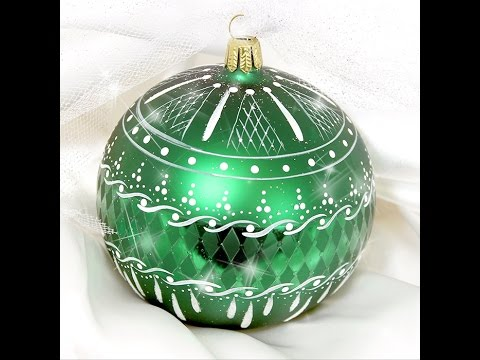 Emerald Lace Ornament Tole and Decorative Painting  by Patri