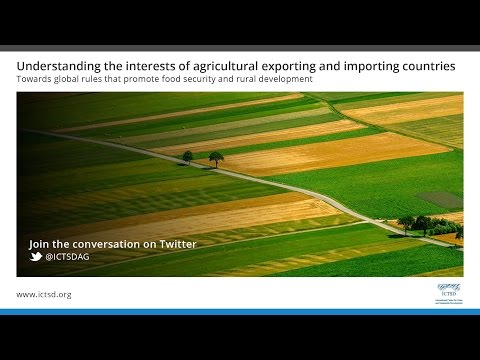 Understanding the interests of agricultural exporting and importing countries