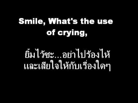 Learning English from Favorites Songs (Smile : Glee Cast) (Cover of Charlie Chaplin Song)