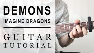 Imagine Dragons - Demons FAST Guitar Tutorial | EASY Chords