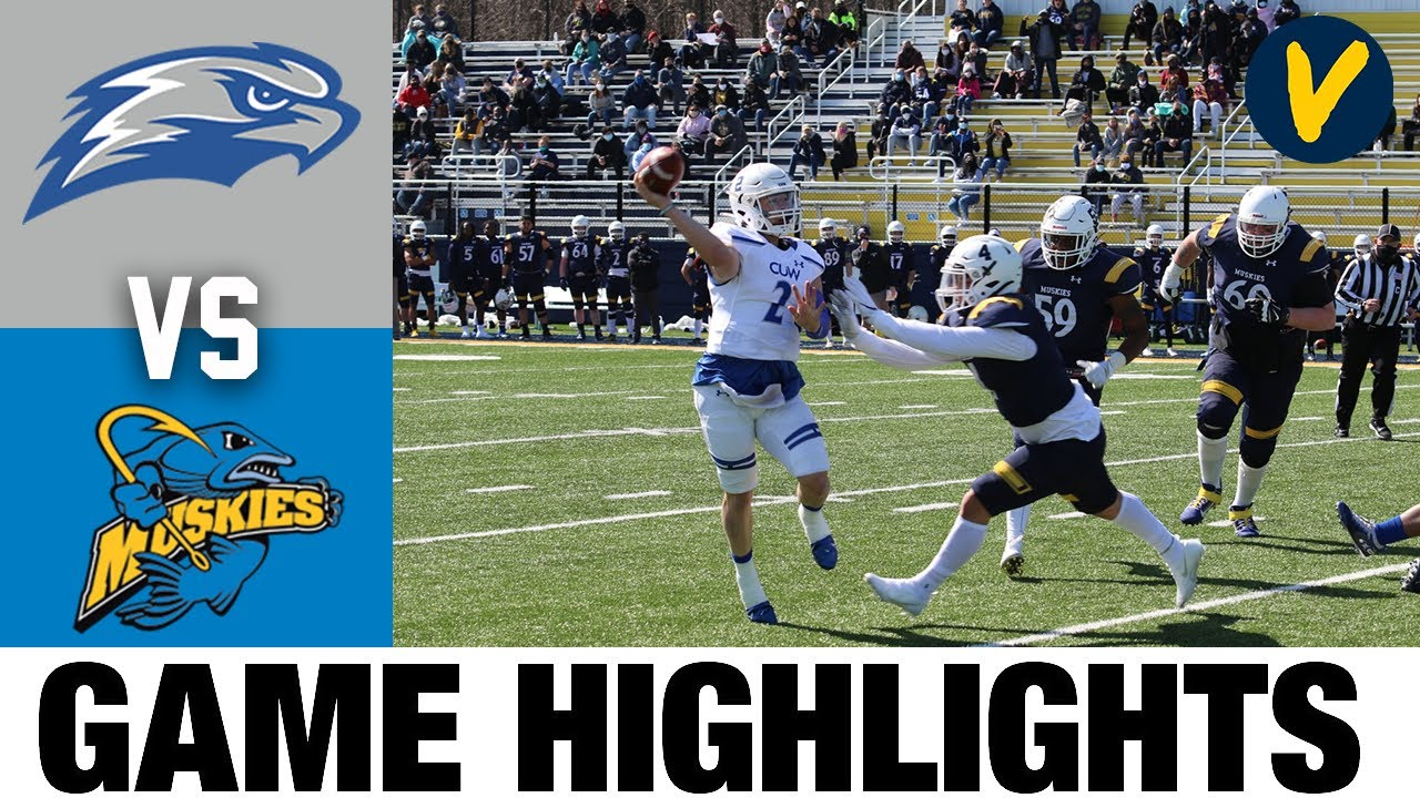 Concordia Wisconsin vs Lakeland Highlights | D3 2021 Spring College Football Highlights
