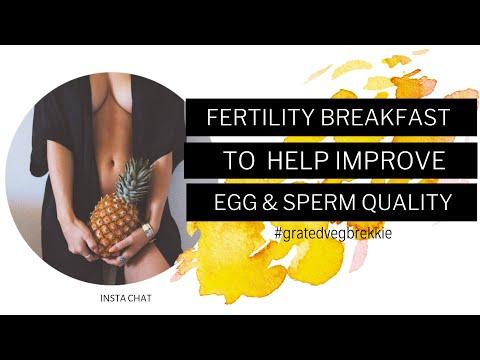 fertility-breakfast-to-help-improve-egg-&-sperm-quality-#gratedvegbrekkie