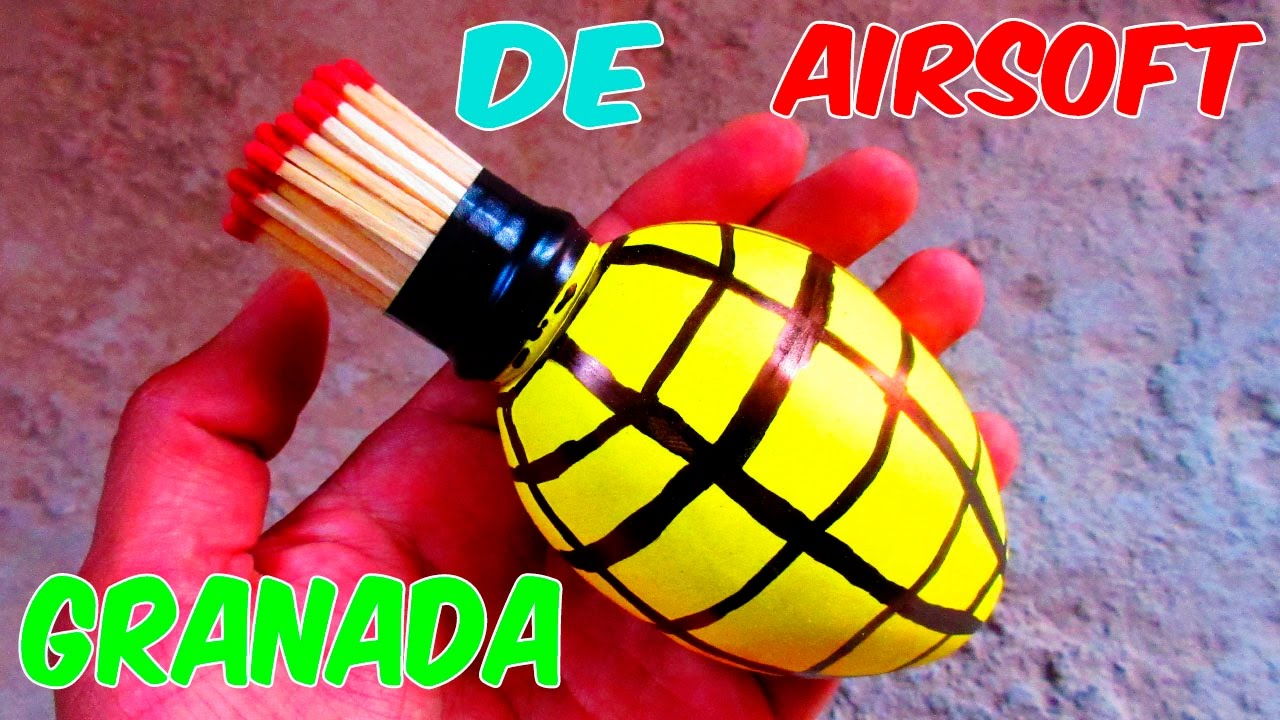 A Home To Toy Airsoft How Smoke Make Pump Grenade j4AL5R3